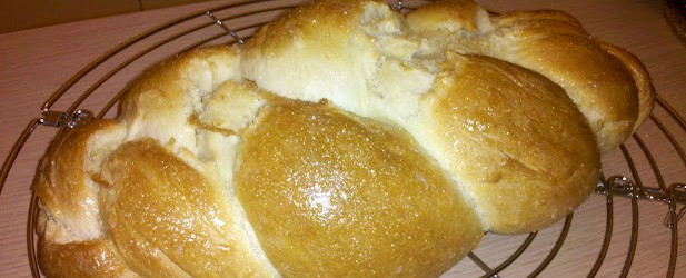 Ricetta treccia (pane dolce)